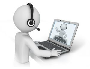 Online counseling, Therapy over skype